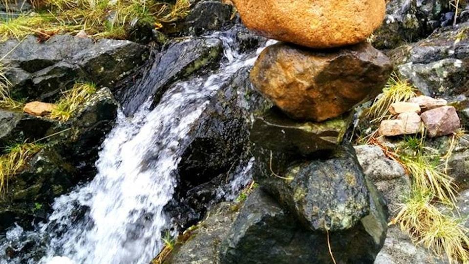 Stone balancing - Stone balancing by Sandor Nagy. 2015 Glencoe, Scotland. All rights reserved.