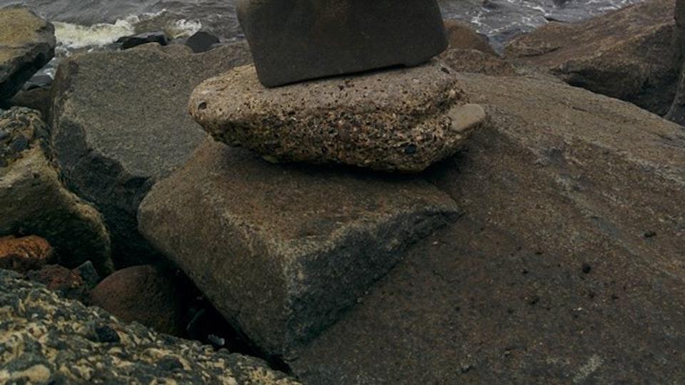 Stone balancing - Stone balancing by Sandor Nagy. 2016 Ayr, Scotland. All rights reserved.