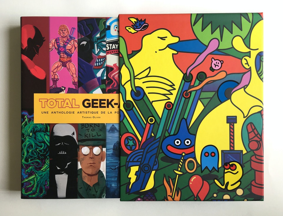 Total Geek-Art Book Cover Sleeve