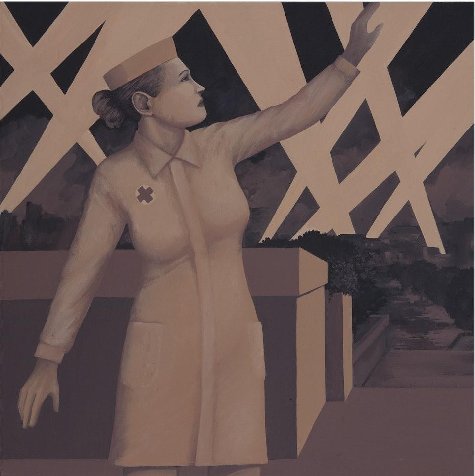 w_Bulwark - acrylic on canvas - cm. 40x40 -  2011
