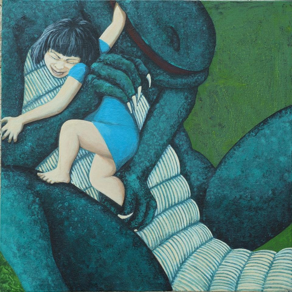 30x30_Stronger than you - acrylic on canvas - cm. 30x30 - 2015