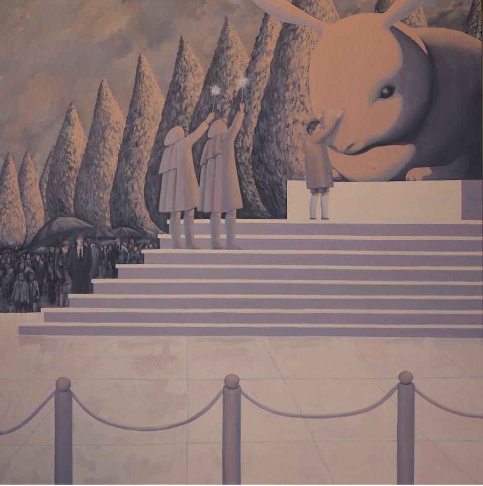 50x50_Freddie - acrylic on canvas - cm. 50x50 - 2011