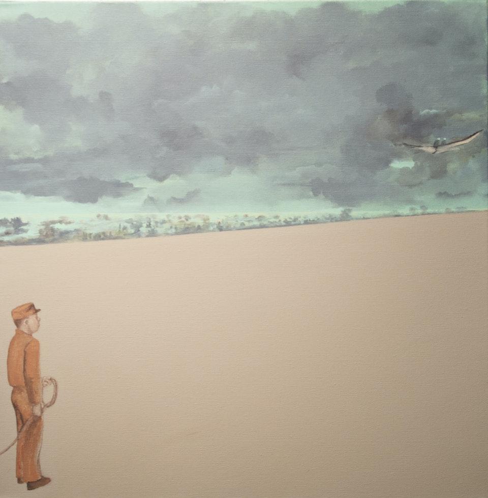 ub2_Gone - acrylic on canvas - cm 50x50 - 2013