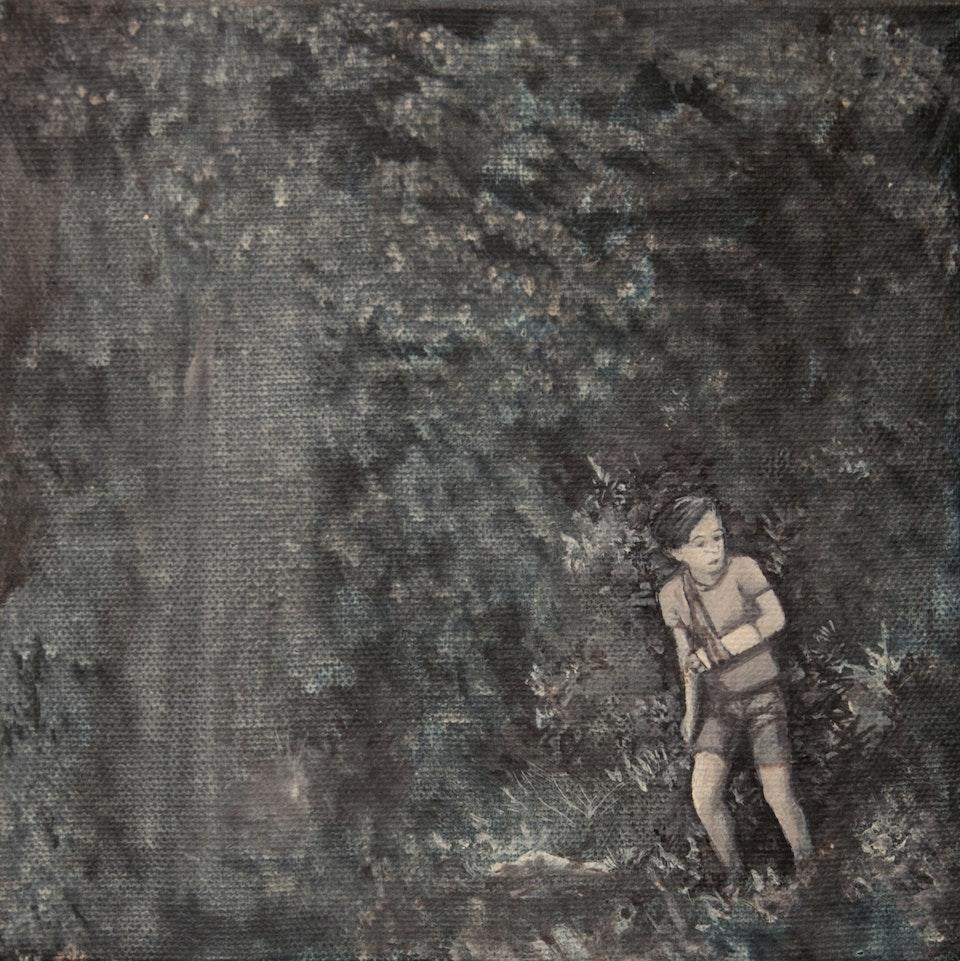 20x20_Path - acrylic on canvas - cm 20x20 - 2013