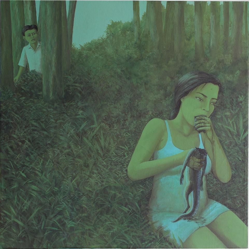 50x50_She! - acyilic on canvas - cm. 50x50 - 2013