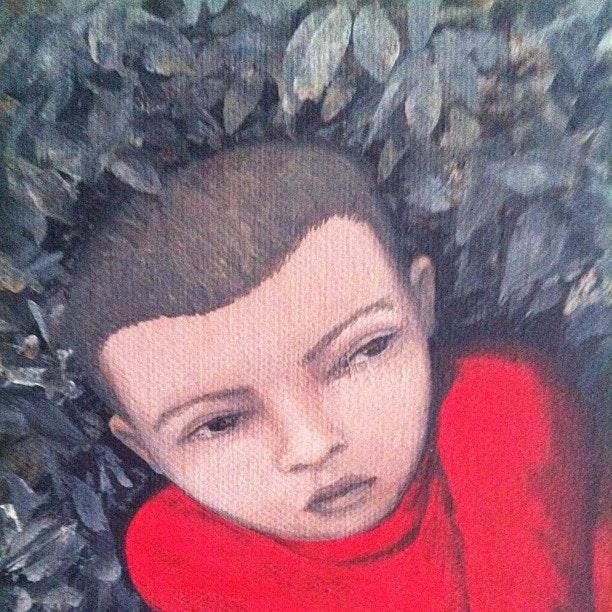 20x20_Cause_Effect_2 - acrylic on canvas - cm. 20x20  - 2013