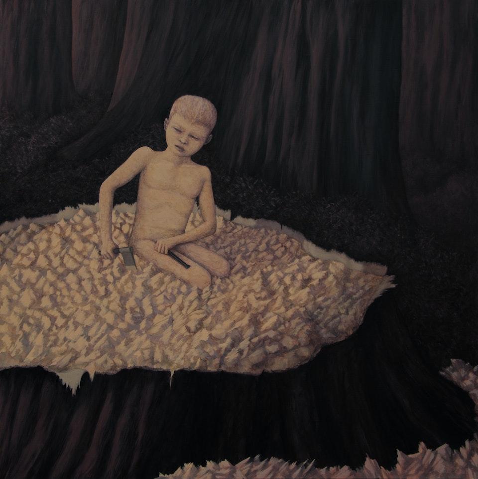 100x100_Envoy -acrylic on canvas - cm. 100x100 - 2014