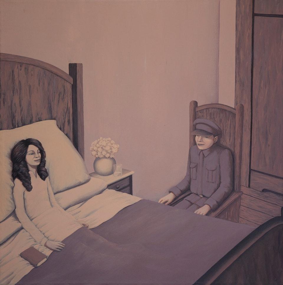 w_Pandemia - acrylic on canvas - cm. 40x40 - 2011