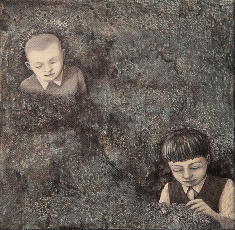 20x20_Part - acrylic on canvas - cm 20x20 - 2013