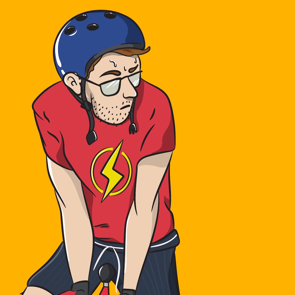 Cycling Self Portrait