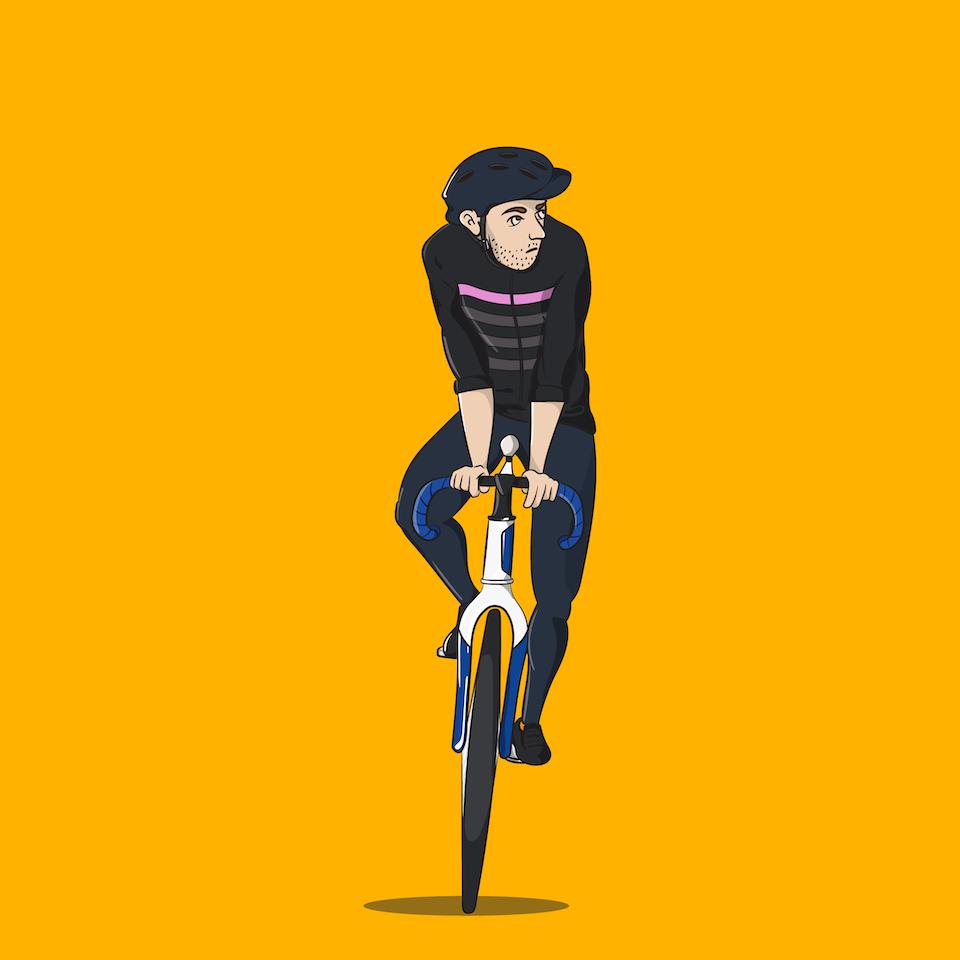 Bike Self Portrait - 3-01 -