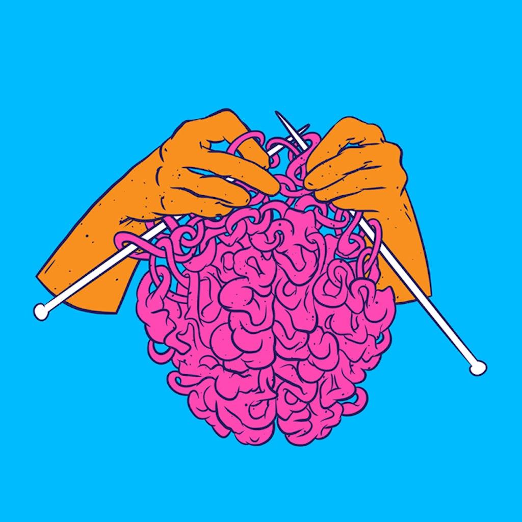 Knitting a brain