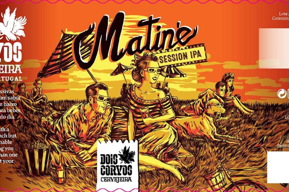Beer Label Designs - Beer Label Design for Dois Corvos