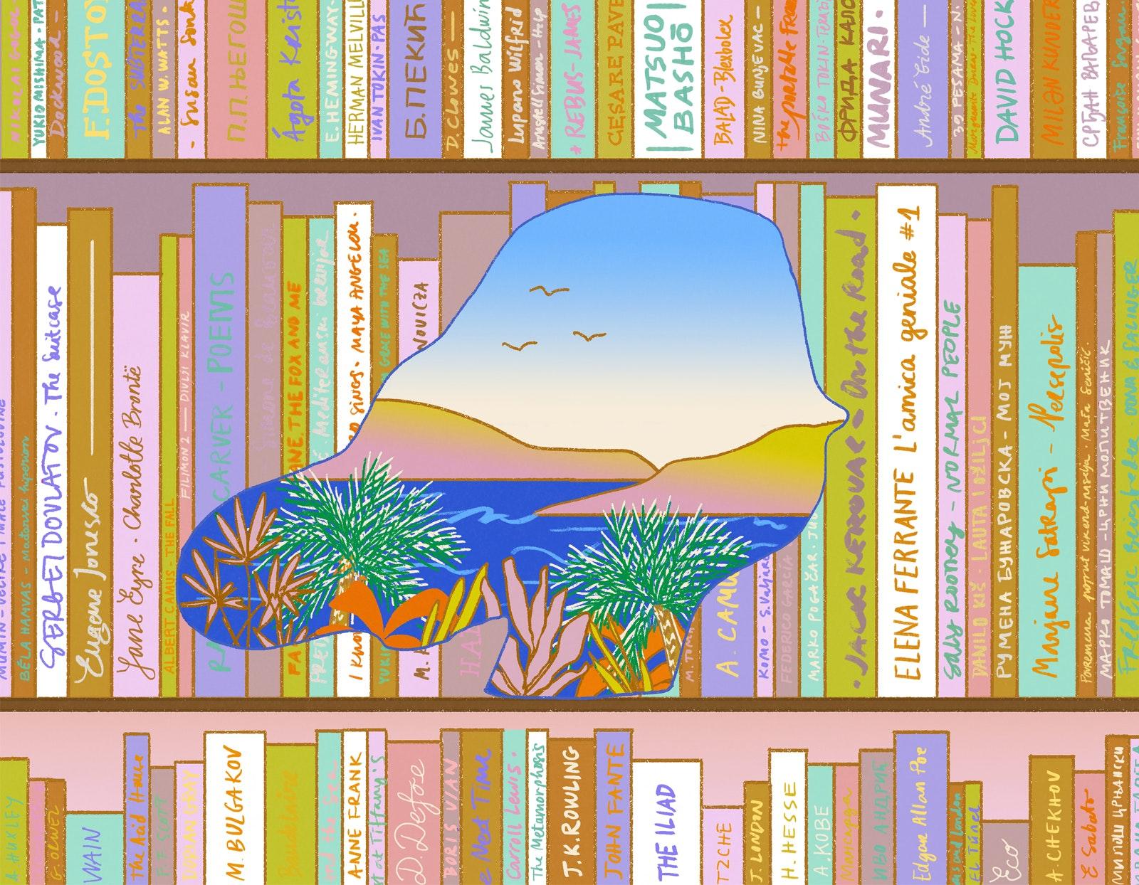 MILICA GOLUBOVIC - Bookescaping web 2