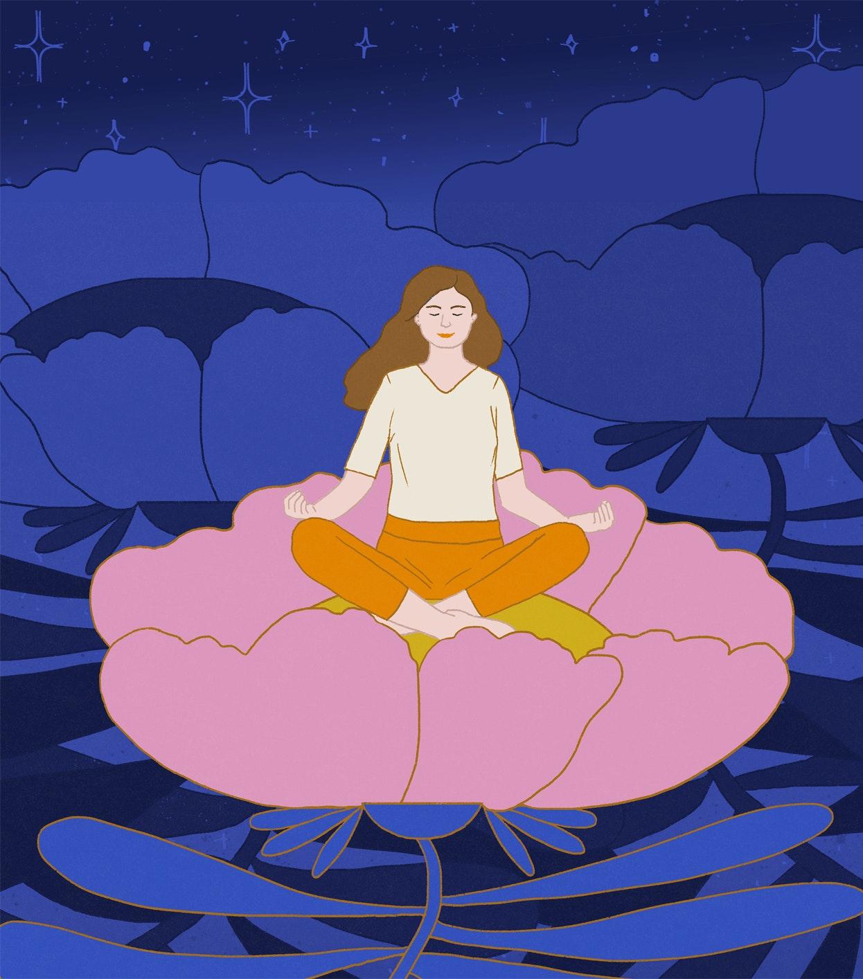 Milica Golubovic - Meditating web