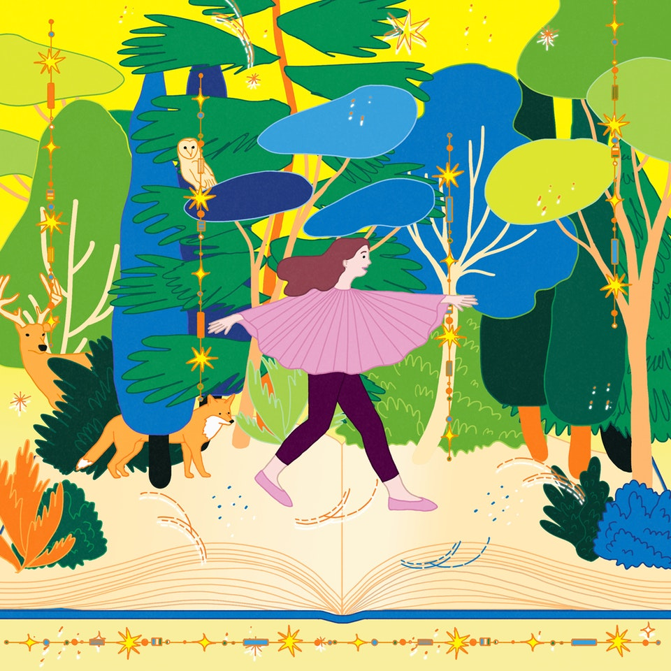 MILICA GOLUBOVIC - A walk through the words... | Personal work