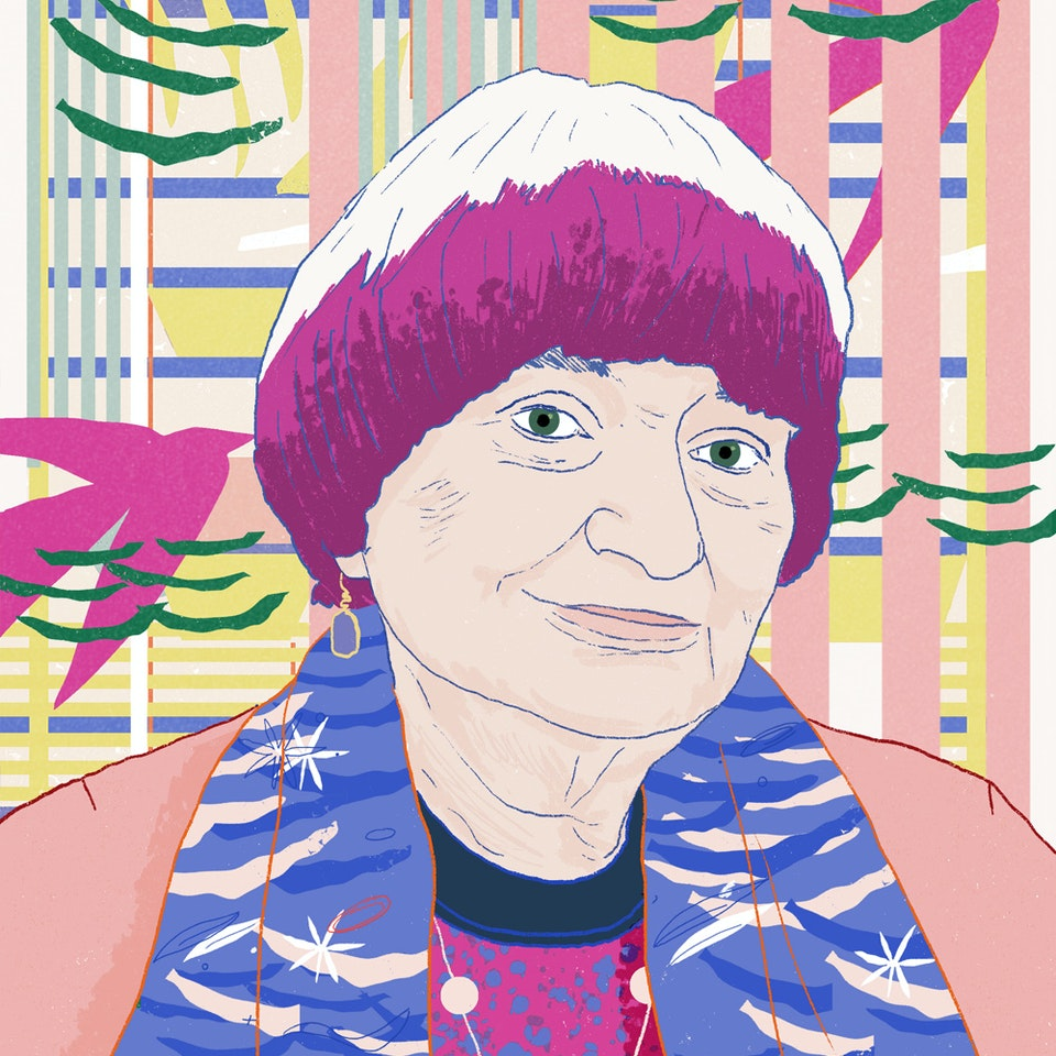 Portraits  | Commissioned and Personal work Milica_Golubovic_Agnes_Varda_f