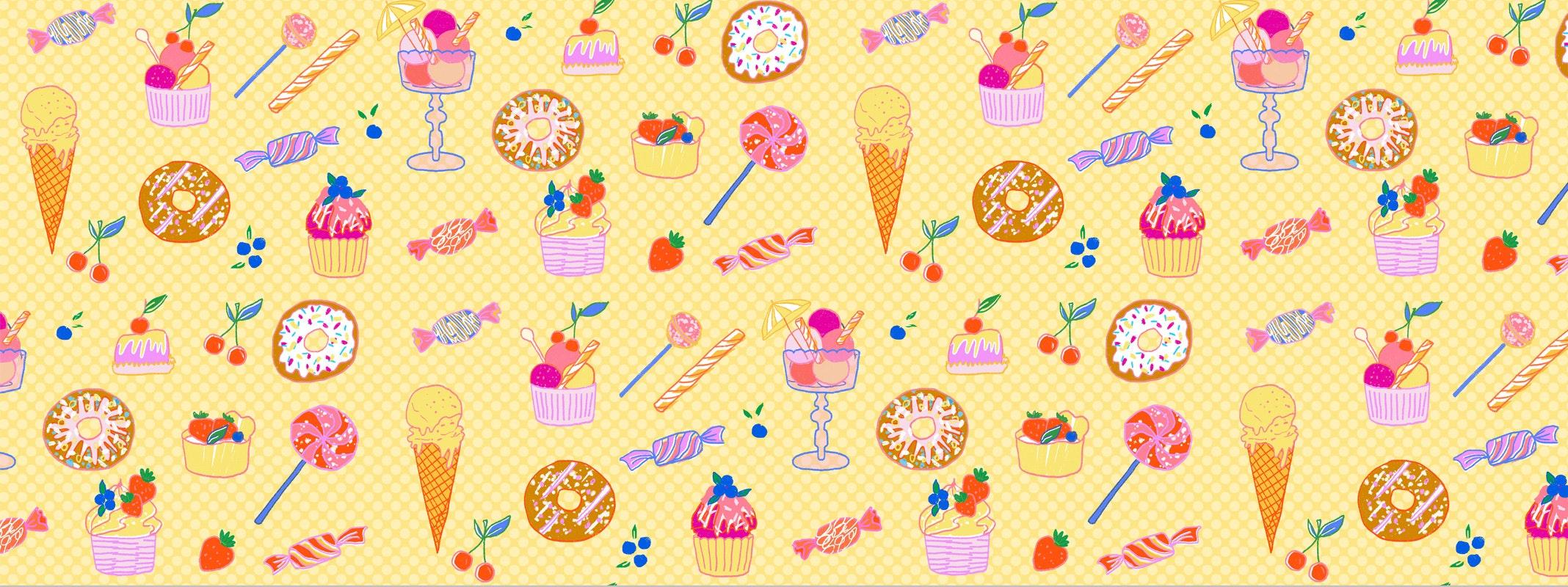 MILICA GOLUBOVIC - Milica_Golubovic_Sweets-pattern-web