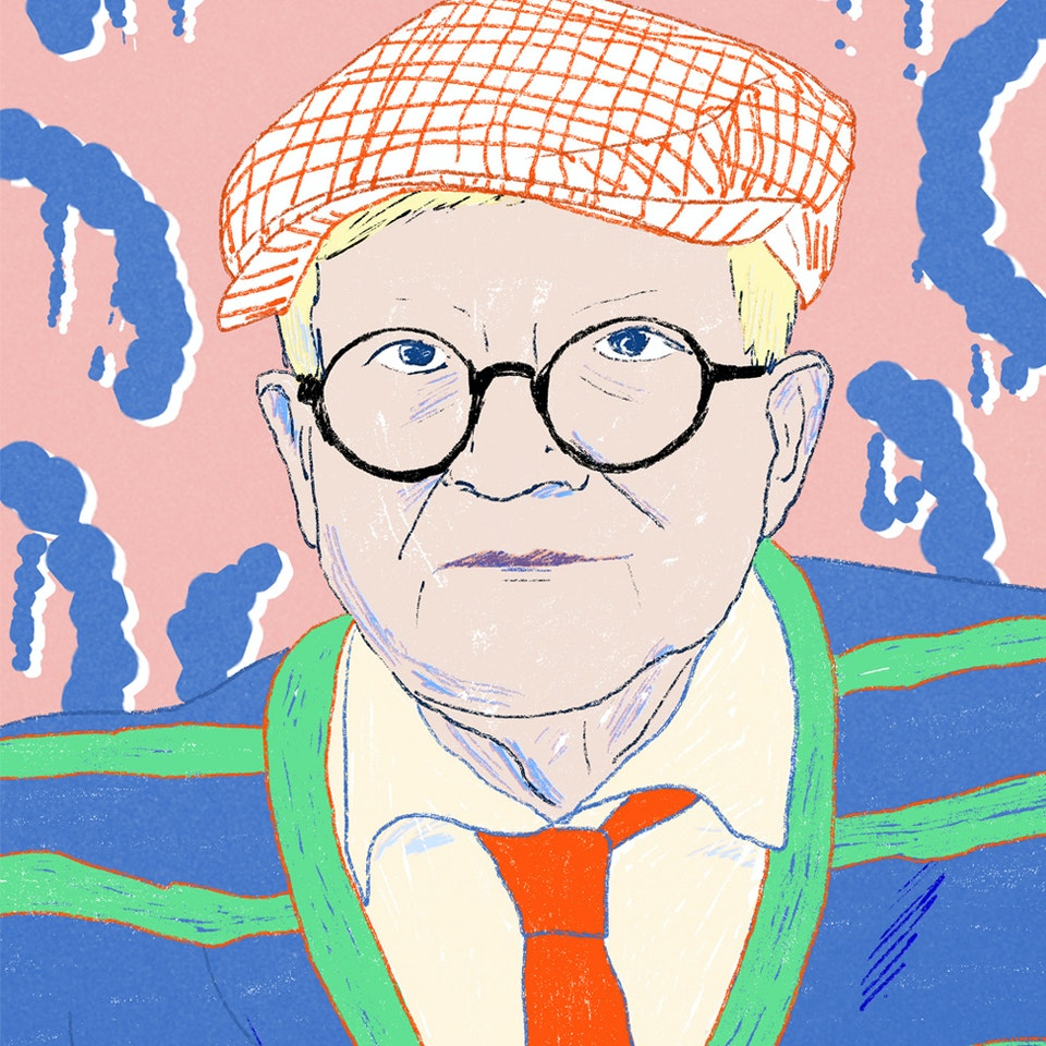 Milica Golubovic - David Hockney