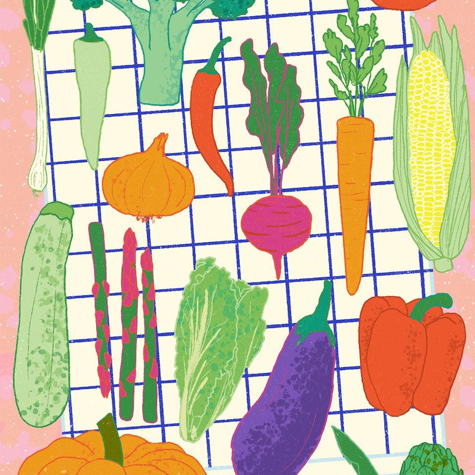 MILICA GOLUBOVIC - Food illustrations II | Personal work