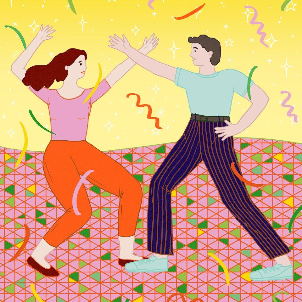 MILICA GOLUBOVIC - Dancing