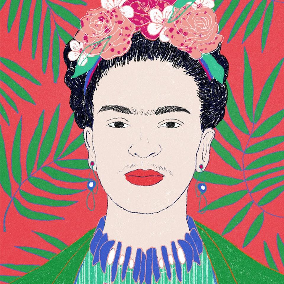 Portraits  | Commissioned and Personal work Milica_Golubovic_Frida_f