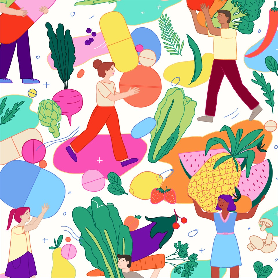 MILICA GOLUBOVIC - Supplements vs Healthier Diet | Personal work