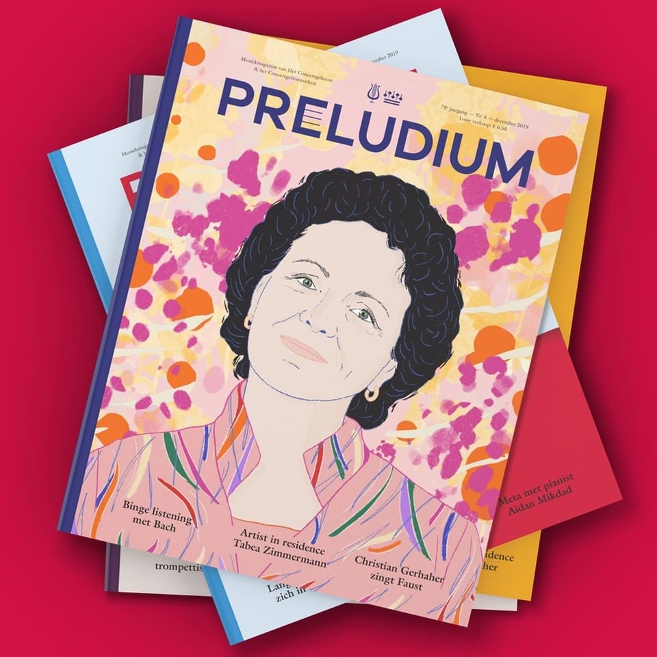 Milica Golubovic - Cover illustration for Preludium Magazine (NL)