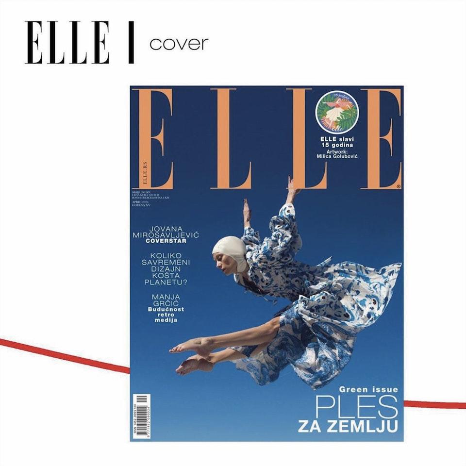 Elle Magazine (RS) Art Stamp e