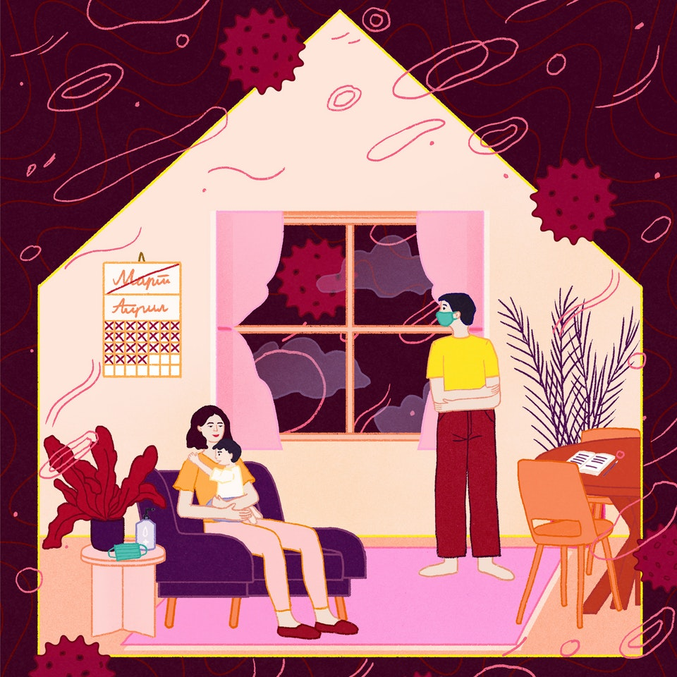 MILICA GOLUBOVIC - Lice Ulice (RS) | Coronavirus Diary