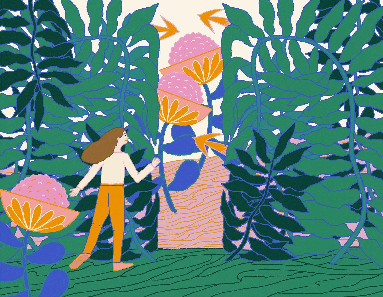 MILICA GOLUBOVIC - Garden web