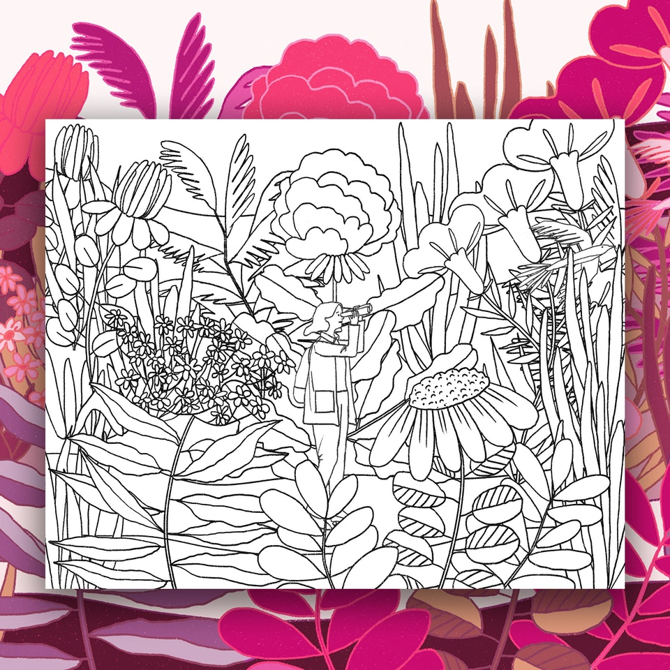 MILICA GOLUBOVIC - Coloring Sheets