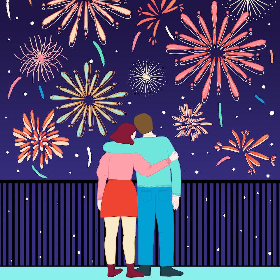 MILICA GOLUBOVIC - Fireworks | Personal work