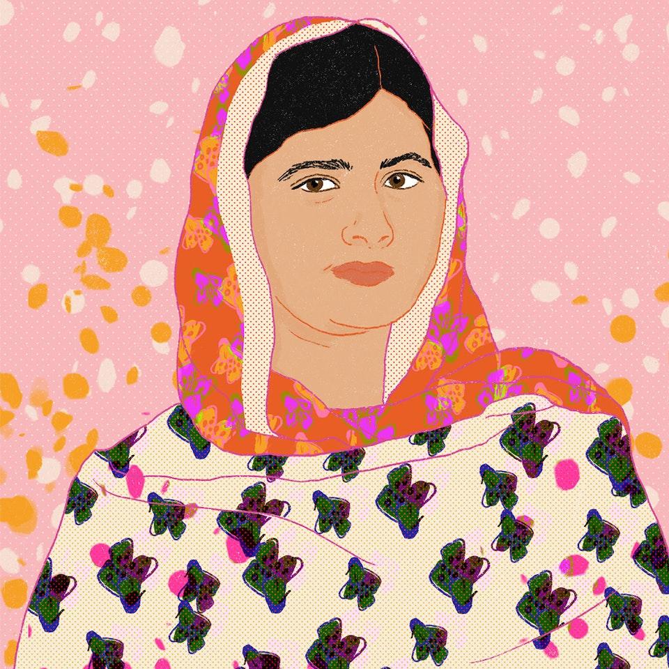 Milica Golubovic - Malala Yousafzai