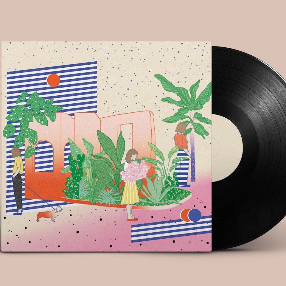 "Secret 7"" (UK) x Mind Charity Vinyl-Record-PSD-MockUp"