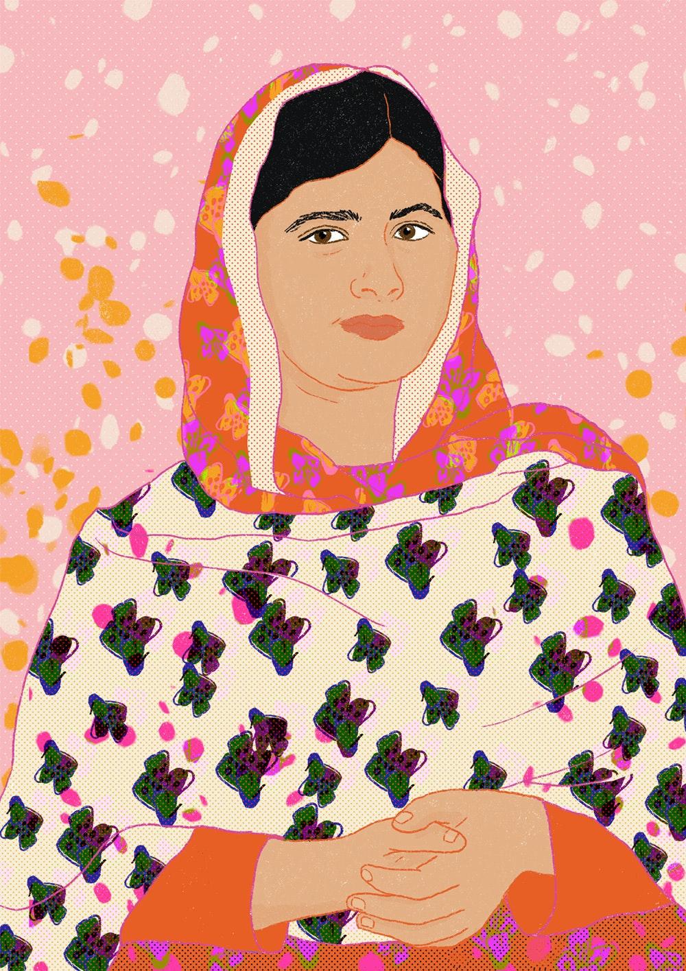 MILICA GOLUBOVIC - Milica_Golubovic_Malala-Yousafzai-web