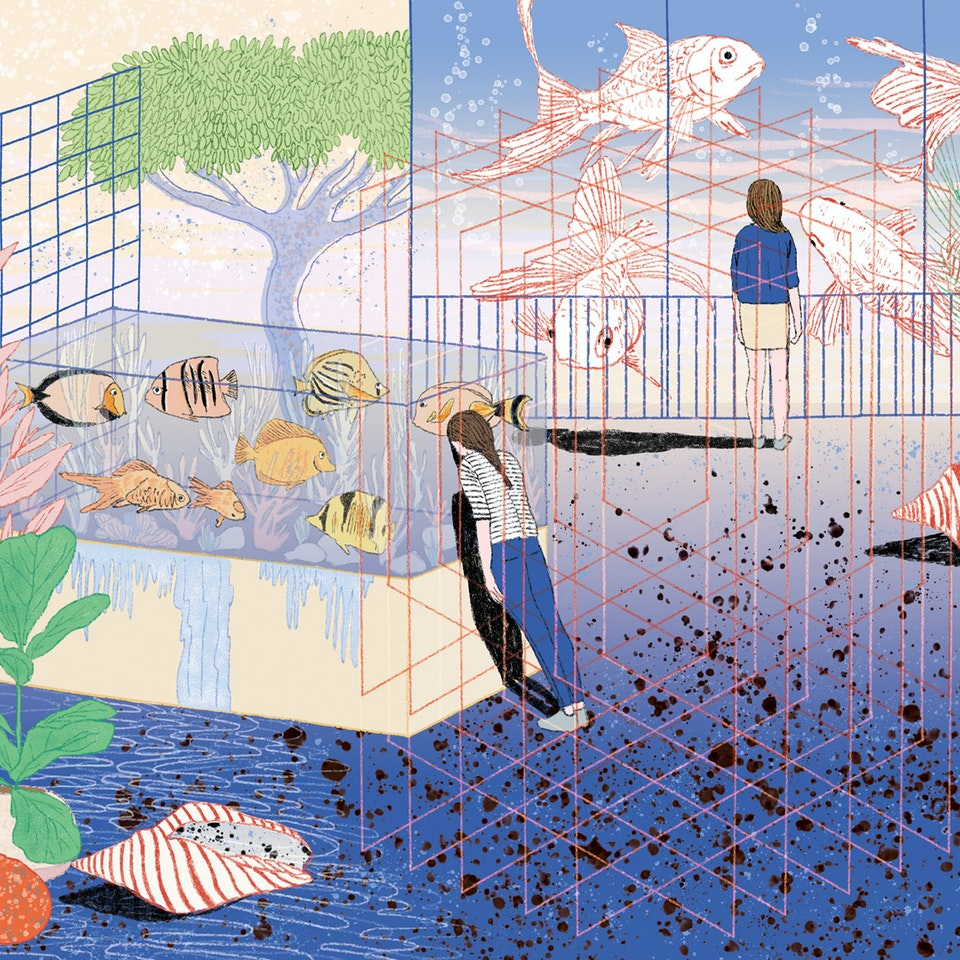 MILICA GOLUBOVIC - Tangled up in blue