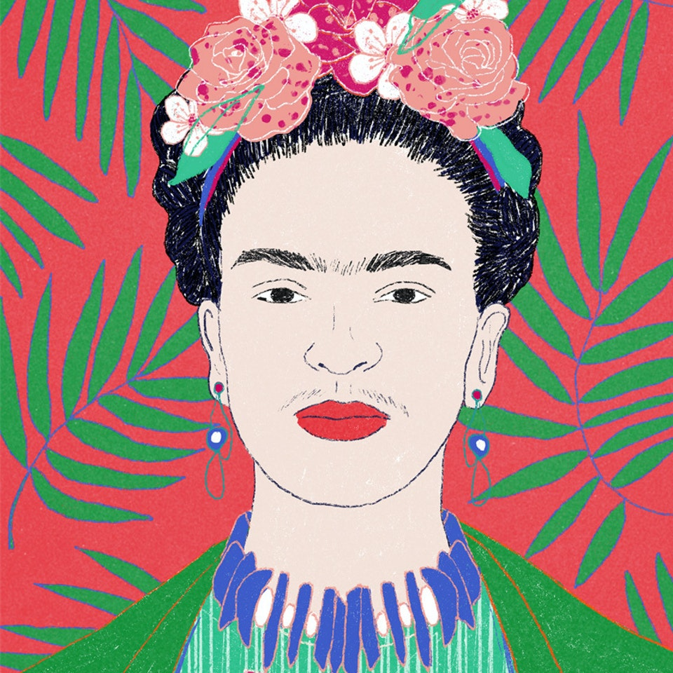 Milica Golubovic - Frida Kahlo