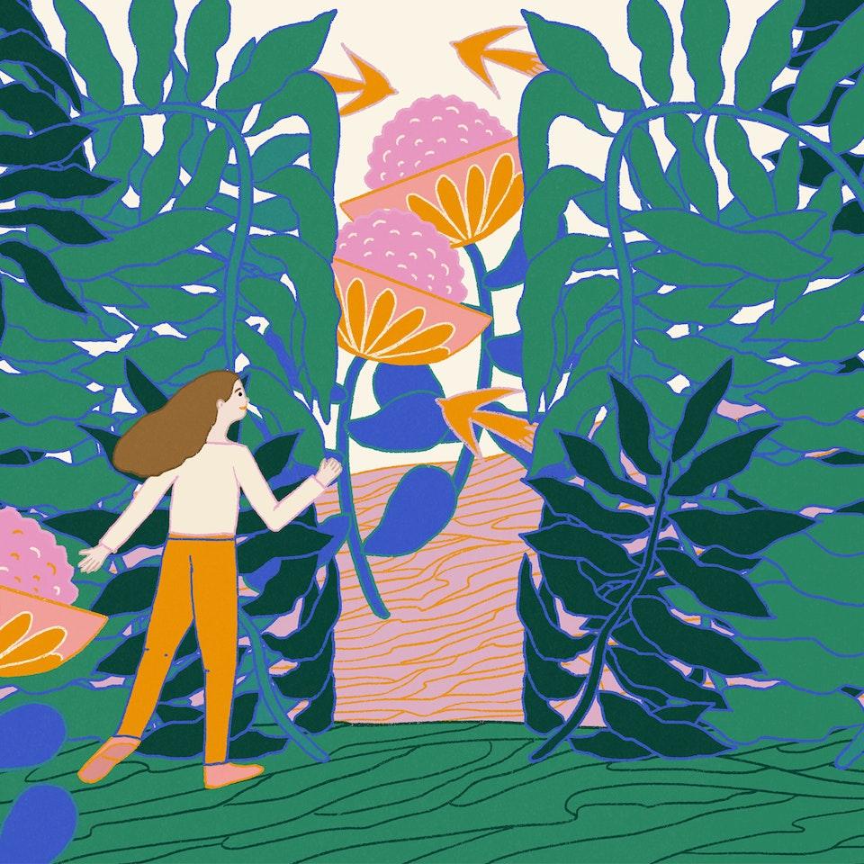 MILICA GOLUBOVIC - Magical Garden