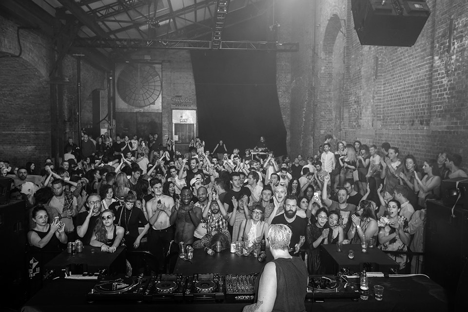 Village Underground. London. August 2016. -