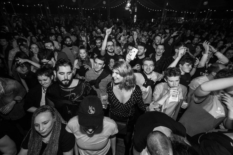 Cabaret Sauvage. Paris. February 2019. -