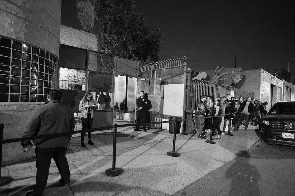Lot 613. Los Angeles. December 2017. -