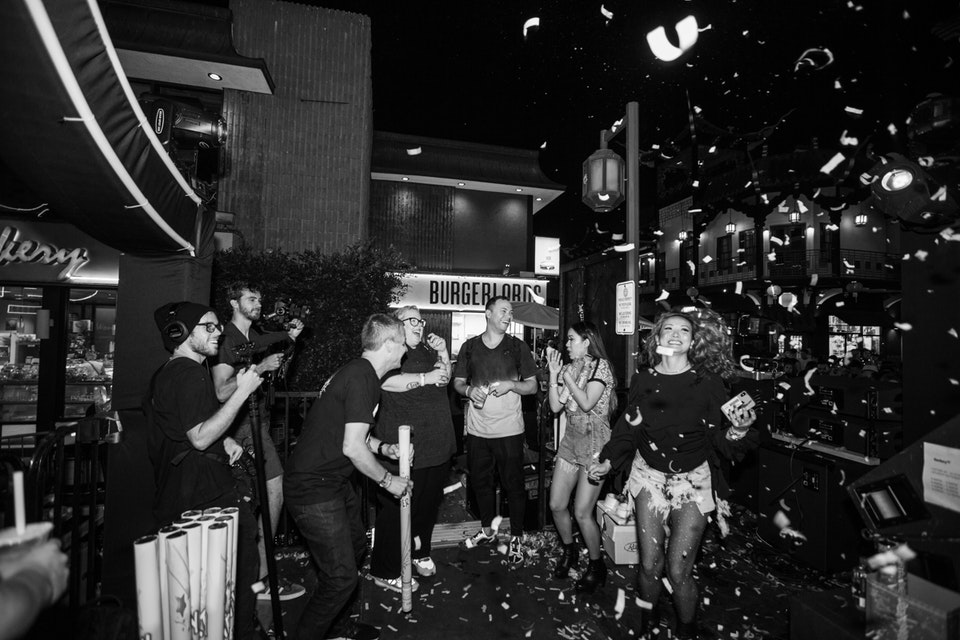 WSB Street Party. Los Angeles. September 2019. -
