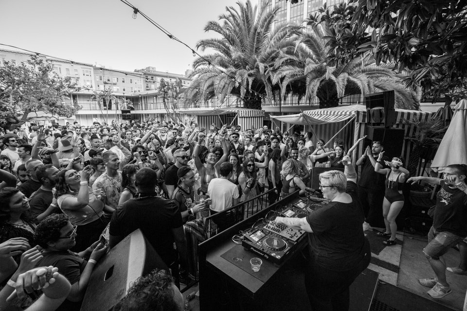 Phoenix Hotel Pool Party. San Francisco. September 2019.