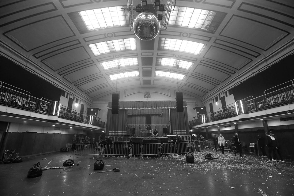 York Hall. London. December 2017. -