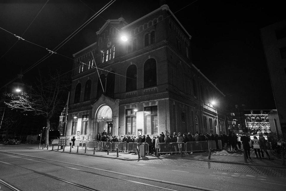 Paradiso. Amsterdam. February 2018. -