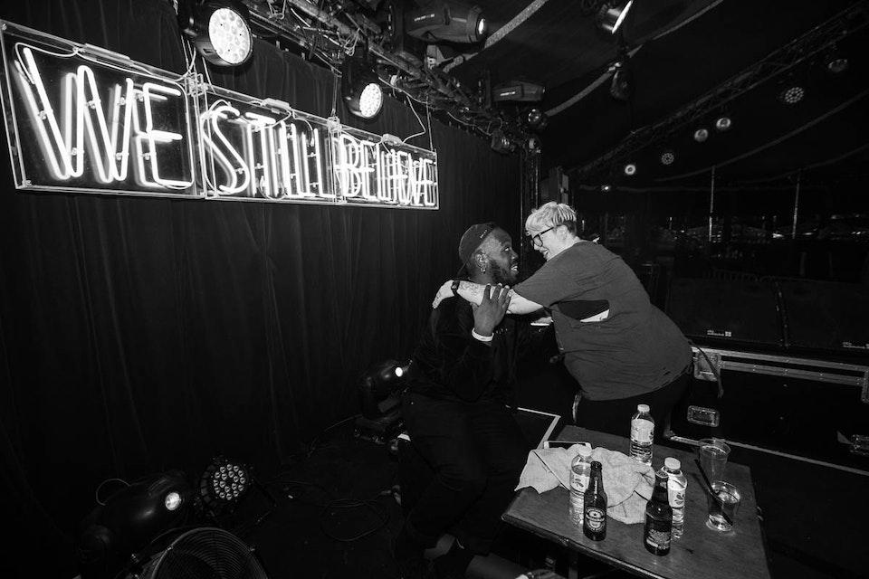 Cabaret Sauvage. Paris. February 2018. -