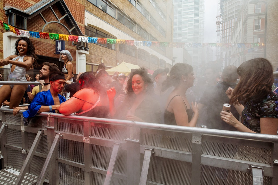WSB street party. London. August 2019. -