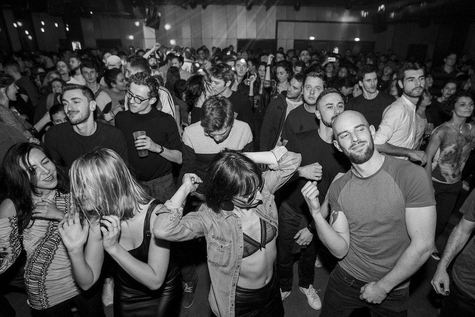 Le Sucre. Lyon. January 2018. -