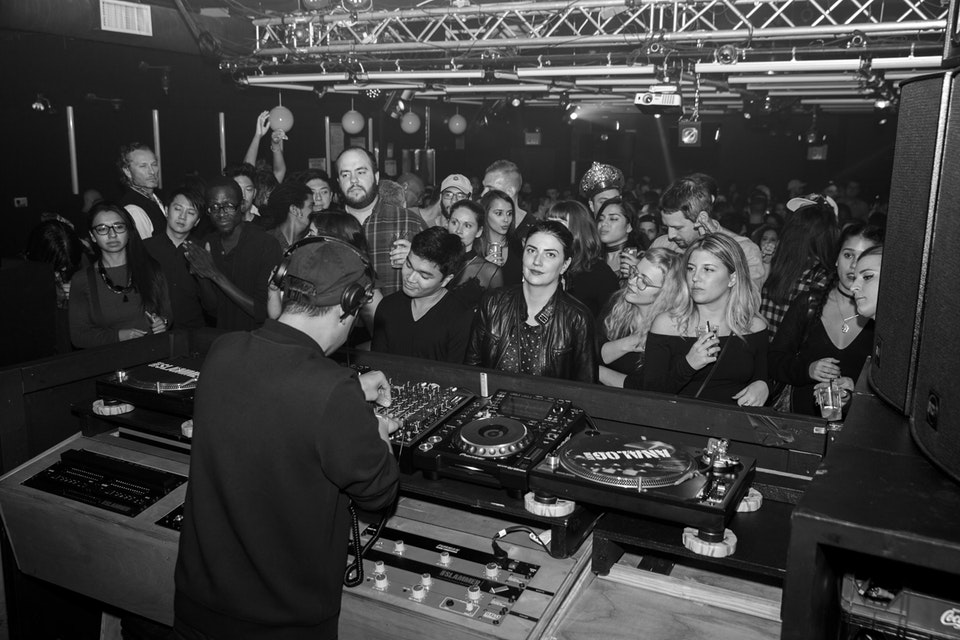Analog Club. New York. November 2016. -